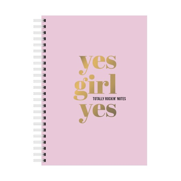 "Studio Stationery A5 Notebook ""Yes girl yes"""